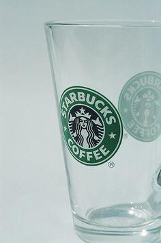 StarBucks glass cups! Dish Storage, Starbucks Coffee, Pint Glass, Mugs, Tableware, Addiction, Houses, Homes, Dinnerware