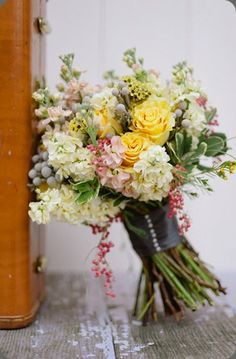 Sweet bouquet by Blossom Sweet, via Botanical Brouhaha