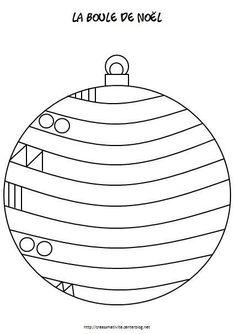 Risultati immagini per graphisme boule de noel Christmas Crafts For Kids, Christmas Activities, Xmas Crafts, Christmas Balls, Christmas Colors, Crafts To Do, Winter Christmas, Christmas Themes, Preschool Activities