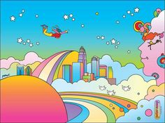 Peter Max - Charlotte NC