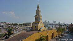 las dos caras de Cartagena de Indias.
