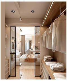 Walk In Closet Design, Bedroom Closet Design, Closet Designs, Home Bedroom, Bedroom Decor, Master Bedroom Plans, Master Room, Master Closet, Bedroom Furniture