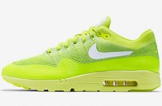 http://SneakersCartel.com The Nike Air Max 1 Ultra Flyknit In Volt Is Another Summer Option | #sneakers #shoes #kicks #jordan #lebron #nba #nike #adidas #reebok #airjordan #sneakerhead #fashion #sneakerscartel http://www.sneakerscartel.com/the-nike-air-max-1-ultra-flyknit-in-volt-is-another-summer-option/