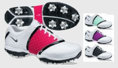 great way to get golf shoes to match every outfit!