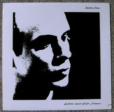 "An oversaturated black-and-white photograph of Eno — taken by his erstwhile girlfriend, Ritva Saarikko — adorns the minimal cover. The stark album art, and the jagged riffs of nervy, spastic songs like ""King's Lead Hat,"" prefigured the new wave style that would become ubiquitous a few years later. The original LP also included four moody offset prints by Peter Schmidt, which are now collectors' items."