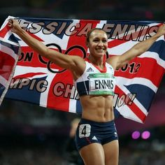Jessica Ennis - amazing woman!