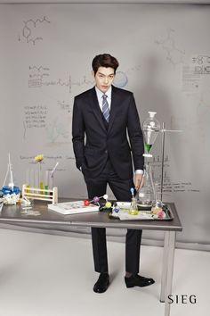 Woo Bin for SIEG Korea S/S 2014: 140305