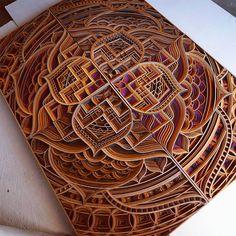 Nice Laser-Cut Wooden Sculptures8