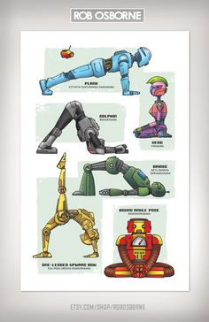 """One of the most frequent requests onOMazing Kidshas beenfor """"robot-themed"""" kids yoga lesson plan ideas. I have searched for """"robot theme kids yoga ideas"""" several times. …"""