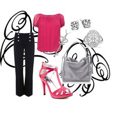 Bubble Gum Pink, created by christinamarie31 on Polyvore
