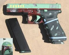 Who doesn't want a Boba Fett Glock? Lol. This is one Glock I might would own!