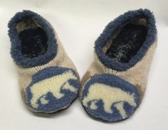 Upcycled Sweater Slippers with Leather Soles by TheBackyardBear Upcycled Sweater, Fleece Sweater, Mens Slippers, Cottage Chic, Sweaters, Leather, Crafts, Etsy, Fashion