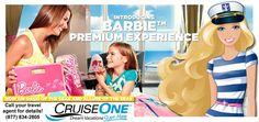 Barbie experience, Royal Caribbean cruise vacation! CruiseOne