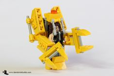 A mini-figure scaled power loader from the Alien's movie Related
