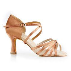 En superfin og elegant dansesko fra NDS udført i bronze satin. Denne model NDS2078 Premium er en kvalitetssko, som er kendetegnet ved sin bløde sål, gode fit og høje komfort. En fleksibel og lækker dansesko! Forhandles hos Nordic Dance Shoes: http://www.nordicdanceshoes.dk/nordic-dance-shoes-nds2078-bronze-satin-dansesko#utm_source=pin
