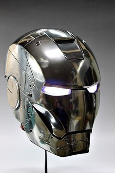 Iron Man Mark 2, Cardboard Mask, Iron Man Helmet, Cool Motorcycle Helmets, License Plate Art, Arte Robot, Ironman, Supreme Wallpaper, Robot Concept Art