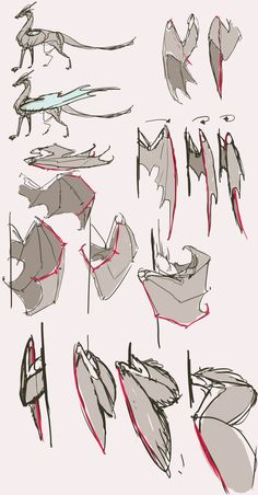 Dragon drawing - 75 picture ideas, # picture ideas # dragon drawing Check more at diy . - Dragon drawing – 75 picture ideas, ideas drawing Check more at diyhaustiere. Drawing Techniques, Drawing Tips, Drawing Sketches, Drawing Ideas, Sketching Tips, Drawing Lessons, Wings Drawing, Drawing Base, Drawing Drawing