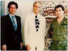 Our hero Bashir and his father Pierre and brother Amin