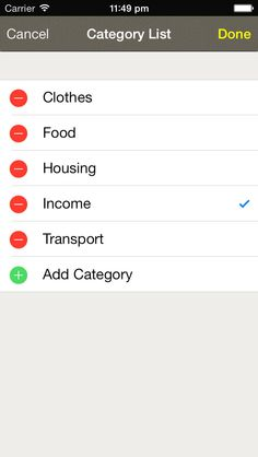 dennis cai | Finance | iPhone | Income Planner $0.00 | ver.1.4| $0.99 | Income Planner helps you to plan your monthly expenditure, and shows you your disposable income after all the fixed expenditures. You can easily add ...