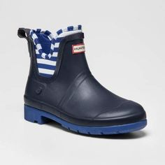 3b23f7d955f Hunter for Target Kids  Waterproof Ankle Rain Boots - Navy Target Kids  Boots