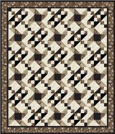 """FREE quilt pattern: """"Two Block Quilt"""" (from Pellon)"""