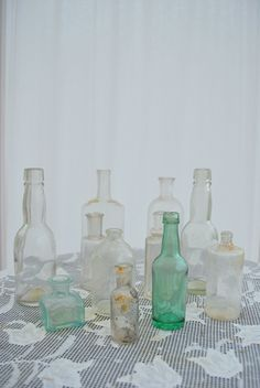 Bottles: A collection of bottles