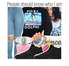 """""""✨"""" by pocket-full-of-rainbows ❤ liked on Polyvore featuring Mina Victory, Versace and NIKE"""