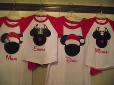 Disney Inspired Mickey Minnie Mouse Inspired by creationsbyJeanne, $19.00