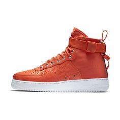 Nike SF Air Force 1 Mid Men's Shoe Size 11.5 (Orange)