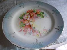 """EXTREMELY OLD and Beautiful Antique Kaiserin Limoges Plate 9 1/4"""" #KaiserinLimoges"""
