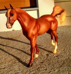 Breyer Horse Rare #706 Chestnut Arabian JUSTADREAM JUST A DREAM OASIS Mare HTF