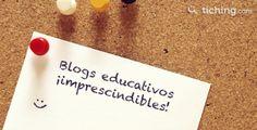 """Listado de 10 blogs de referencia en el sector de la educación. Este listado lo podemos encontrar en el blog de """"Tiching"""". Algunos de ellos los conozco y son de visita obligatoria. Aquí os dejo el ..."""