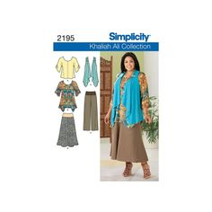 Simplicity Sewing Pattern Misses Casual 10-18