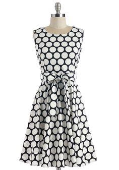 Girl Meets Twirl Dress in Dots