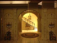 Thorne Miniature Rooms at the Art Institute of Chicago.