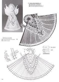 Mi Ultimo Trabajo De Bolillos | Aprender manualidades es facilisimo.com Bobbin Lace Patterns, Vintage Crochet Patterns, Tatting Patterns, Crochet Angel Pattern, Crochet Angels, Knit Or Crochet, Free Crochet, Lacemaking, Irish Lace