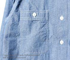 ビッグヤンク/BIG YANK ''デラックスC/Pシャツ''ソルト&ペッパーシャンブレーシャツ【560-472-02】