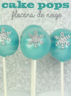 60 GLACE bluechristmas congelés comestibles flocons de neige Cupcake Topper-Rice Paper