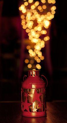 Bokeh lamp