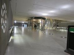 Access to the Metro is the basement of La Grande Arche (housing many of IESEG's classrooms) @ IESEG School of Management, Paris