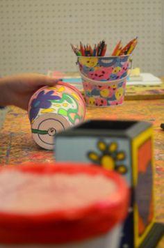 Taller amaite: Plim Plim ... dias de Febrero Montevideo, Planter Pots, Tableware, Home Workshop, February, One Day, Dinnerware, Dishes, Plant Pots