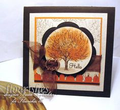 Speedy the Cat loves pumpkins! by markie's mom - Cards and Paper Crafts at Splitcoaststampers