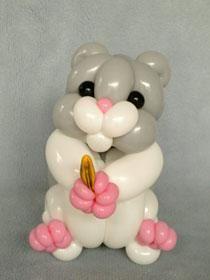 cute dog balloon twisting - Google 搜尋