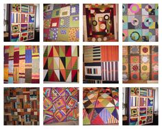 gallery of personal quilts