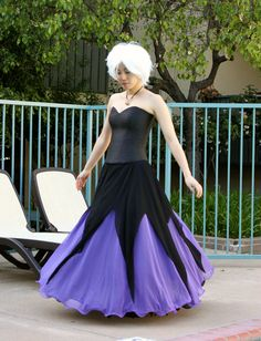 Ursula costume idea use pool noodles wrap in black fabric and cation designs spur of the moment ursula costume solutioingenieria Image collections