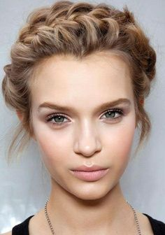 This hair style is very cute  and simple , it would be perfect to do in a hurry for school.