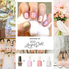 Cult Cosmetics nail kit for 100 Layer Cake