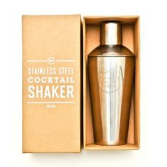 Izola Shake Rattle and Roll Cocktail Shaker by Izola, Inc. $34.44. Giftable packaging. Holds 24-ounce. Integrated Strainer. Airtight gum seal. Etched saying. The cocktail shaker is a classic icon of sophistication and revelry. After a long day it's the tool you need to concoct the perfect cocktail and pour it in style. Izola's 24-ounce stainless steel cocktail shaker is engraved with Shake, Rattle and Roll, it's guaranteed to draw attention to your bar and kitchen. Th...