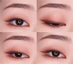 5 Super Cute Korean Eyeliner Hacks Nomakenolife The Best Korean Beauty Trends How To Do Puppy Liner Orange Blush Korean Makeup Vs North American Makeup Style Korea Canada Pin By Zei Park On Inspirations In 2019 Korean Eye Makeup I Hope Diverse Beauty V Korean Makeup Look, Korean Makeup Tips, Asian Eye Makeup, Natural Eye Makeup, Natural Eyeliner, Beauty Box, Monolid Eyes, Eyeliner Makeup, Asian Makeup