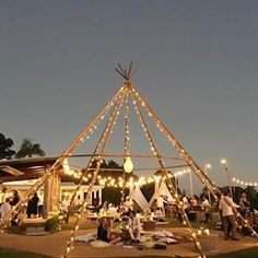 Naked tipi - magical celebrations under the stars. Outdoor Cafe, Outdoor Lounge, Tipi Wedding, Wedding Venues, Wedding Dinner, Tenda Camping, Glamping Weddings, Wedding Venue Inspiration, Festival Wedding